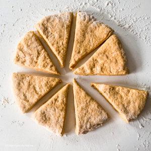 Pumpkin Spice Sourdough Discard scones
