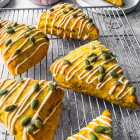 Pumpkin Spice Sourdough Discard scone