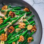 miso green beans