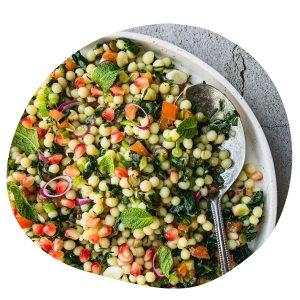 couscous salad with kale