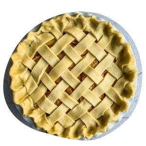 apple pie wit lattice crust