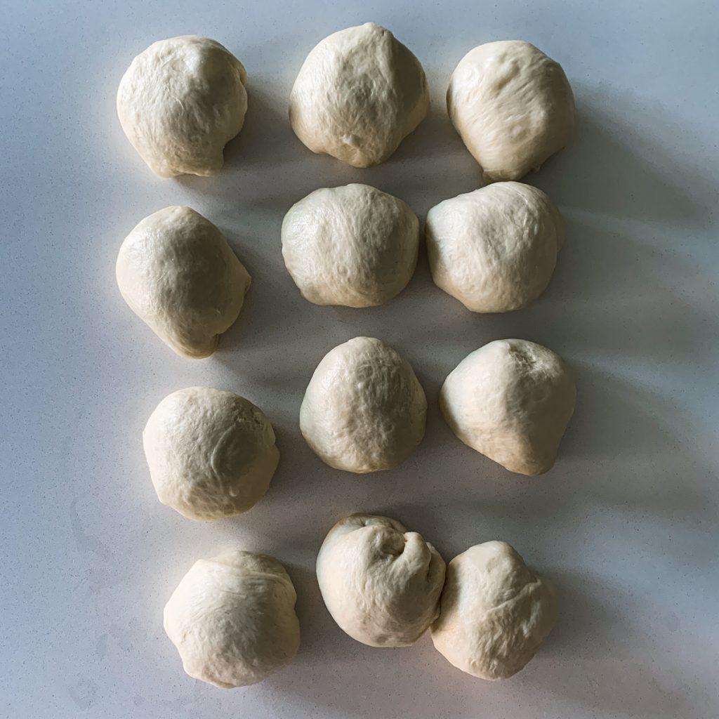 Dough balls.